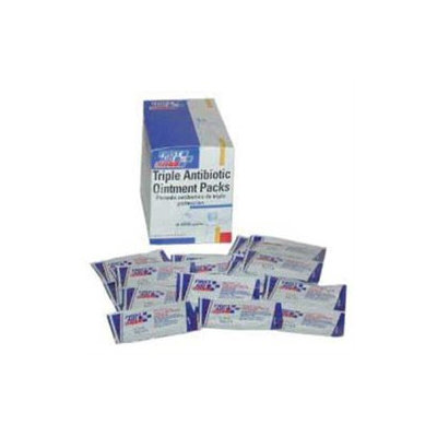 First Aid Only Triple Antibiotic Ointment Packs G460 - (Box of 25) - G460
