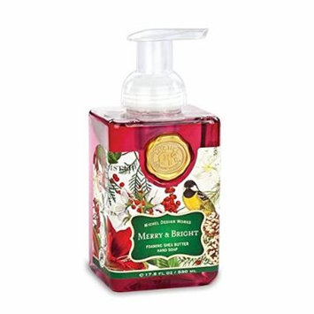 Michel Design Works Merry & Bright Foaming Shea Butter Hand Soap 17.8 Fl Oz