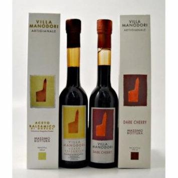 Villa Manodori Artigianale ; Dark Cherry Balsamic Vinegar, set of 2