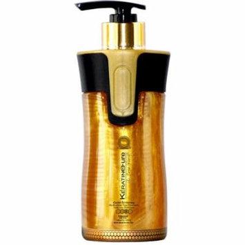 Keratin Cure Gold & Honey Bio-Brazilian Sulfate Free Daily Shampoo 300ml/10floz