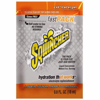 Sqwincher Fast Pack Liquid Con. Electro. Replace. Mix Org. (4 Boxes of 50)
