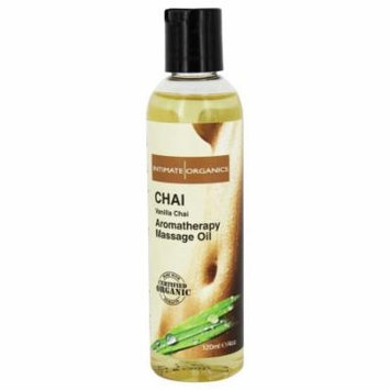 Intimate Organics - Aromatherapy Massage Oil Vanilla Chai - 4 oz.