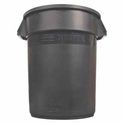 RUBBERMAID 1892474 Food-Grade Waste Container,44 gal.,Blk G4014361