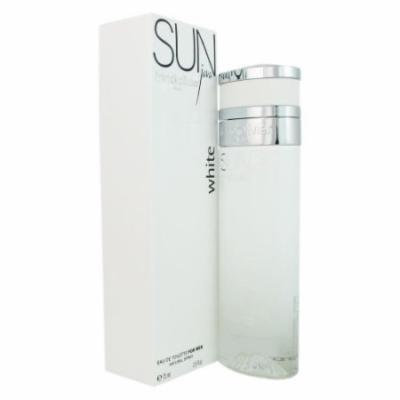 Sun Java White by Franck Olivier Eau De Toilette Spray 2.5 oz for Men