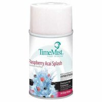 TIMEMIST 1042761 Air Freshener,6.6oz,Raspberry,PK12