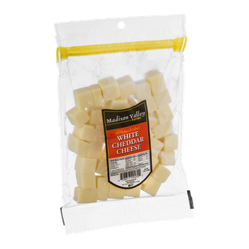 Madison Valley Farms White Cheddar Cheese Cubed
