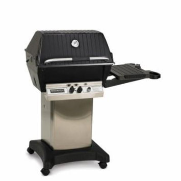 Broilmaster Premium Propane Grill Package with Stainless Steel Cart & Side Shelf