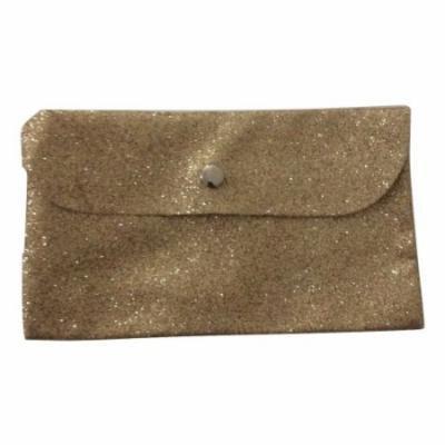bareMinerals Gold Glitter Makeup Bag