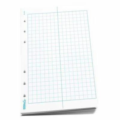 RITE IN THE RAIN 652 Waterproof Loose Leaf, 4-5/8x7, Wht, PK100