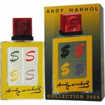 Andy Warhol Cologne Pour Homme 50ml / 1.7 Fl.oz EAU De Toilette Spray Collection 2000