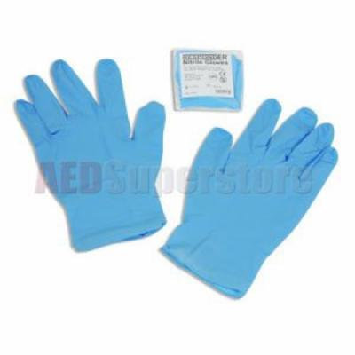Gloves Pack Nitrile, Latex & Powder Free (Large) Pair - AMP0011
