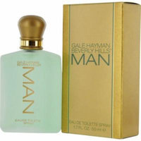 Gale Hayman Man Eau de Toilette Spray for Men, 1.7 Ounce