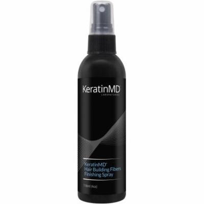 KeratinMD Laboratories Hair Building Fibers Finishing Spray, 4 oz