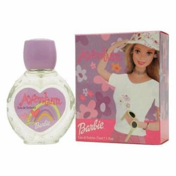 Barbie Aventura By Mattel For Women, Eau De Toilette Spray, 2.5-Ounce Bottle