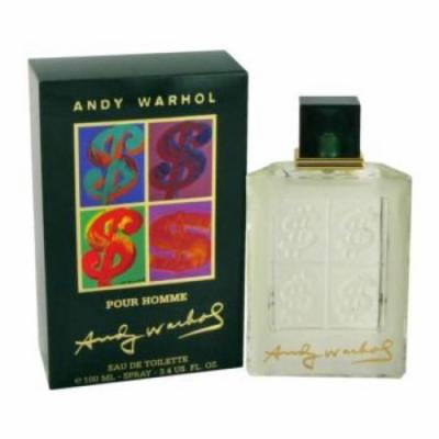 Andy Warhol by Andy Warhol Eau De Toilette Spray 1 oz for Men