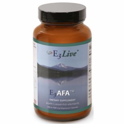E3Live E3AFA 240 Vegetarian Capsules 400mg More than 65 Vitamins, Minerals, Amino Acids & Essential Fatty Acids Organic
