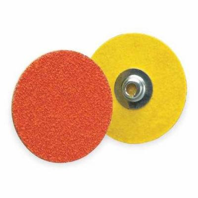 NORTON 66261162313 Locking Disc, CerAlO, 1-1/2in, 80Grit, PK100