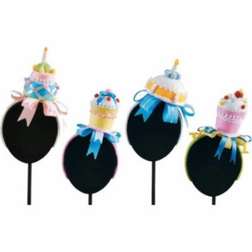 Birthday Party Cupcake Fascinator Headband Hair Accessory, Assorted 4