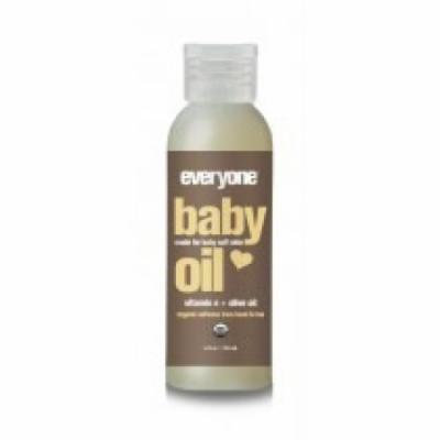 Baby Oil Unscented Organic EO 4 oz Oil