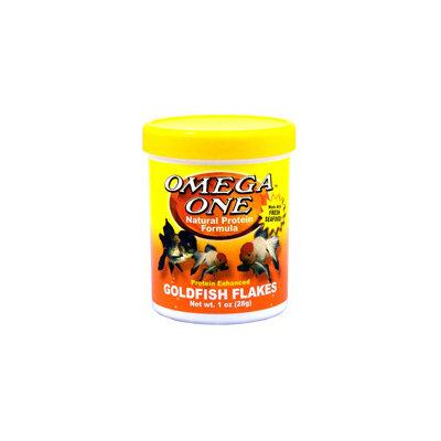 Omega One Goldfish Flakes, 1 oz. ()
