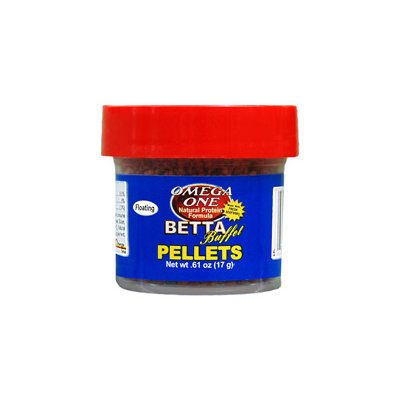 Omega One Betta Buffet Pellets Betta Food, .61 oz. ()