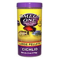 Omega One Cichlid Large Floating Pellets, 6 oz.