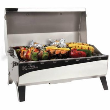 Kuuma 58110 Stow N' Go 160 Charcoal Grill with Inner Lid Liner