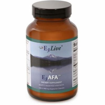 E3Live E3AFA 120ct (400mg) 1 bottle Powder Form - May help normalize blood sugar levels; Increase endurance and stamina