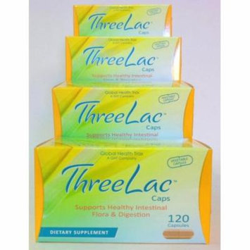 Threelac Caps Probiotic Capsules 4pk