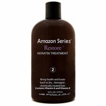 de Fabulous Amazon Series Restore Keratin Treatment, 16.0 Fl. Oz.