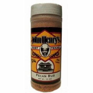 John Henry Pecan Rub Spice Bottle - 11 oz.