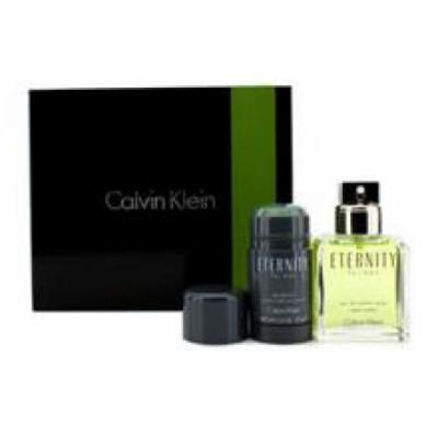 Calvin Klein Eternity Coffret: Eau De Toilette Spray 100ml/3.4oz + Deodorant Stick 75g/2.6oz For Men