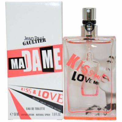 Jean Paul Gaultier Madame Kiss & Love Women's EDT Spray, 1.6 fl oz