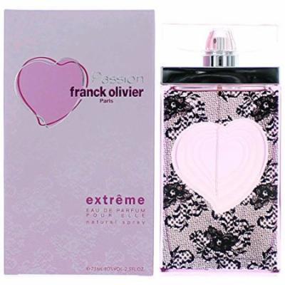 Franck Olivier Passion Extreme By Franck Olivier For Women. Eau De Parfum Spray 2.5 fl Ounces 75 ml