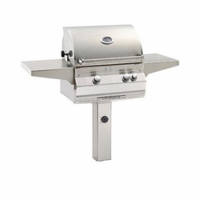 A430s6AAPP6 Analog Style Patio Post Mount Grill - Liquid Propane