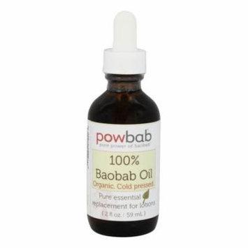 Powbab - 100% Baobab Oil Cold Pressed - 2 oz.