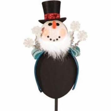 LED Light-up Snowman with Top Hat Fascinator Headband Hair Accessory