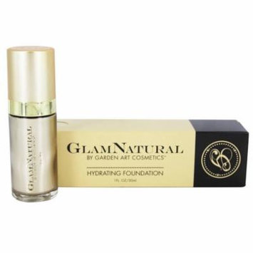 GlamNatural - Hydrating Foundation Ivory 2 - 1 oz.