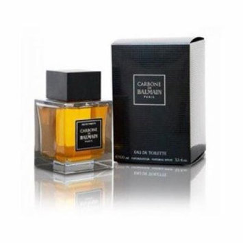 BALMAIN Carbone De Balmain Paris Eau De Toilette Spray for Men, 3.3 Ounce