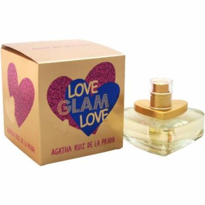 Agatha Ruiz De la Prada Love Glam Love EDT Spray, 1.7 fl oz