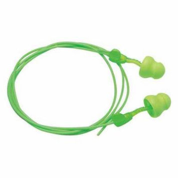 MOLDEX 6945 Disposable Ear Plugs, Corded, Green, PK 100