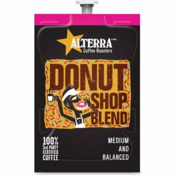 Mars Drinks Alterra Donut Shop Blend Coffee - Compatible with Flavia - Caffeinated - Donut Shop Blend - Medium - 100 / C
