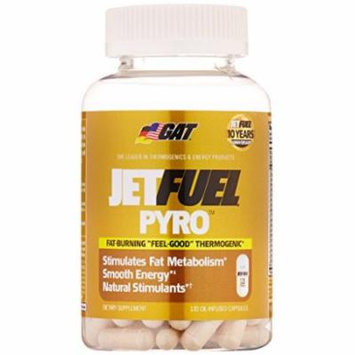 GAT JET FUEL PYRO 120 TABS Fat Burning Thermogenic Energy