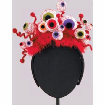 Halloween Creepy Eyeballs Fascinator Headband Hair Accessory