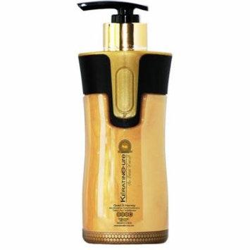 Keratin Cure Gold & Honey Bio-Brazilian Sulfate Free Daily Conditioner 300ml/10floz