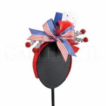 Patriotic 4th of July, Military Homecoming Fascinator Headband Hair Accessory