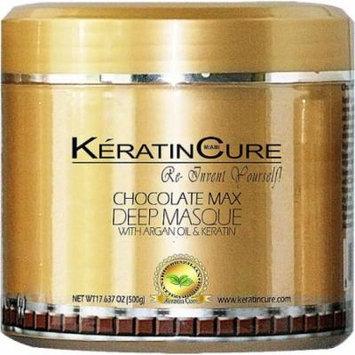 Keratin Cure Chocolate Deep Masque Revitalizing Hair Repair 500g/17floz