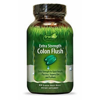 Irwin Naturals Extra Strength Colon Flush Supplement, 60 Count