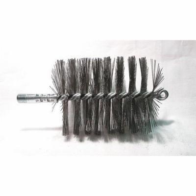 Single Spiral/Double Stem Flue Brush, 1/4
