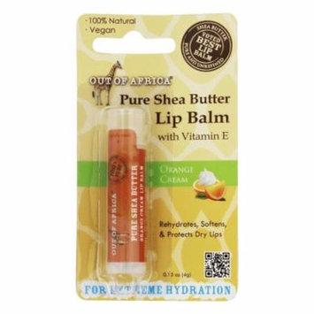 Out Of Africa - Pure Shea Butter Lip Balm Orange Cream - 0.15 oz.
